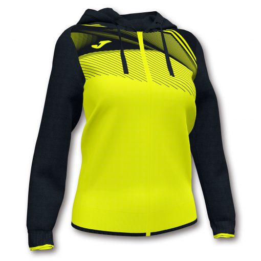 veste sweat jaune fluo Joma foot futsal hand volley
