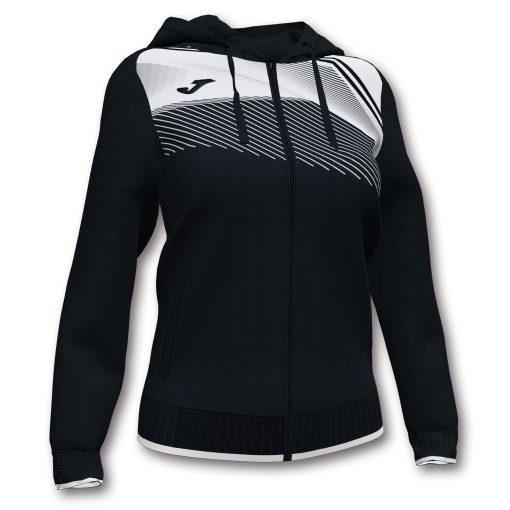 Sweat veste noire blanche football futsal volleyball handball Joma