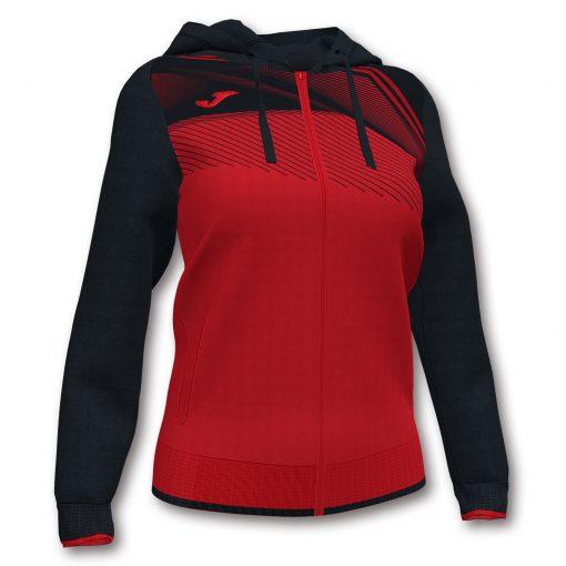veste sweat noir rouge Joma foot hand futsal volley