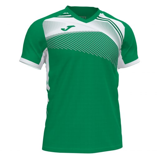 Maillot Joma vert blanc volley futsal foot hand