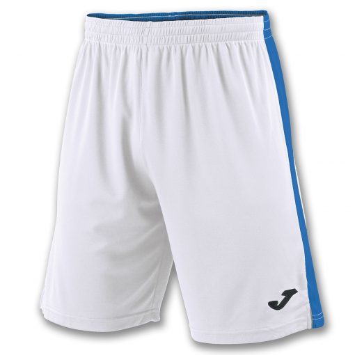 Short blanc bleu, Joma, foot, futsal, hand, volley, cricket, Tokio II