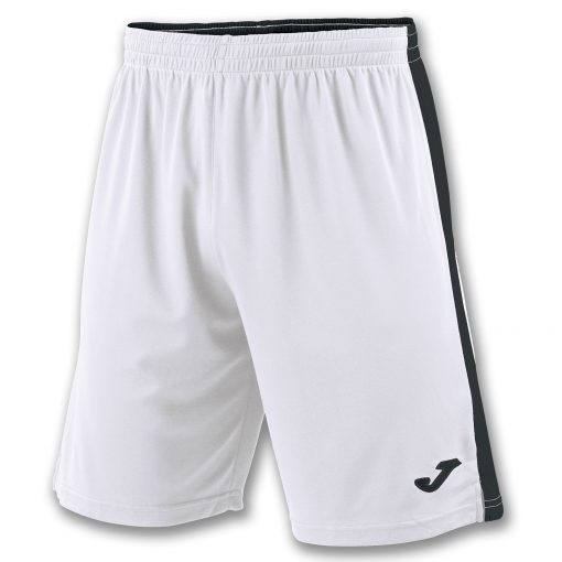 Short blanc noir, Joma, Tokio II, hand, volley, foot, futsal, cricket