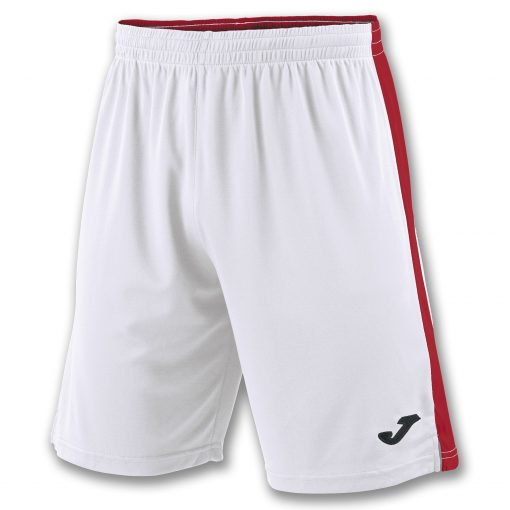 Short, blanc rouge, Tokio II, Joma, foot, futsal, hand, volley, cricket