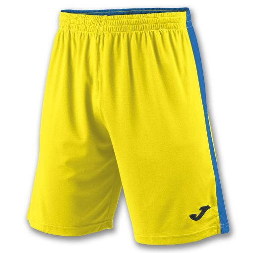 Short Jaune bleu, Joma, Tokio II, foot, futsal, hand, volley, cricket