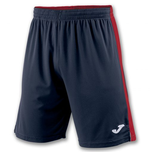 Short bleu marine, rouge, Joma, Tokio II, hand, foot, futsal, volley, cricket, hand
