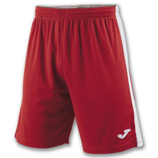 Short rouge blanc Joma, Tokio II, hand, volley, cricket, futsal, foot