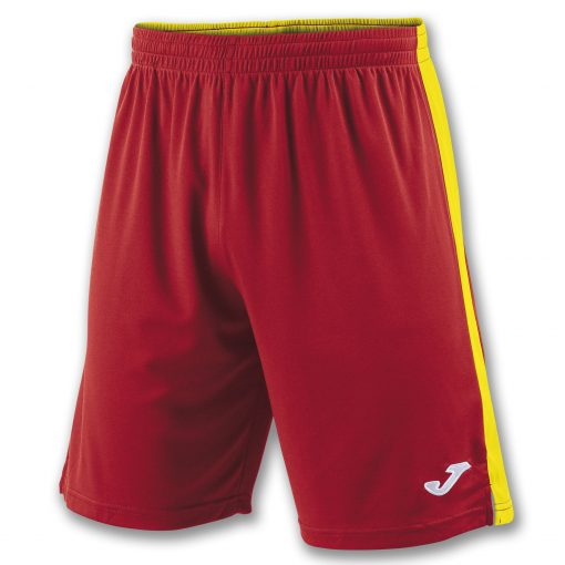 Short rouge Jaune, Joma, Tokio II, foot, futsal, cricket, hand, volley