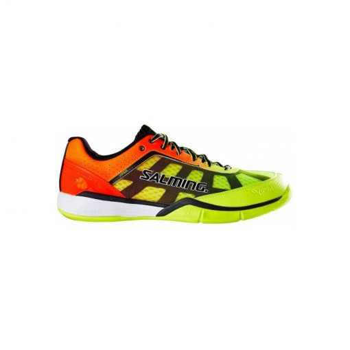 Chaussures Viper 4 orange Jaune Salming squash hand bad