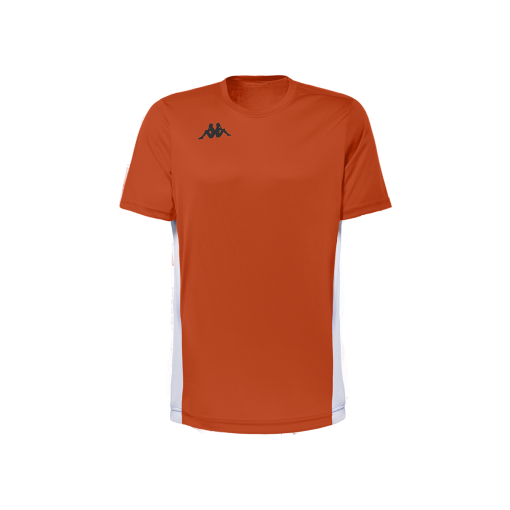 MAillot orange fluo kappa, foot, futsal, hand, volley, wenet