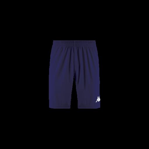 Short bleu marine Kappa, foot, futsal, hand, volley, wusis