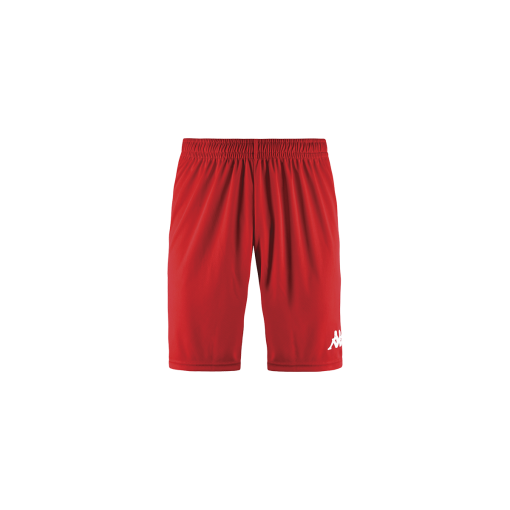 Short kappa rouge, foot, futsal, hand, volley, kappa, wusis