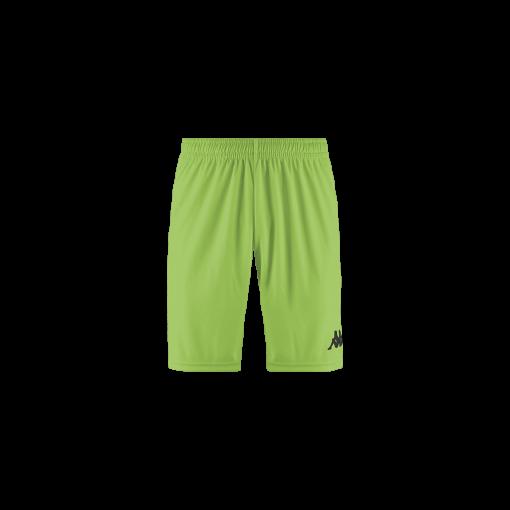 Short vert fluo kappa, football, futsal, hand, volley, wusis