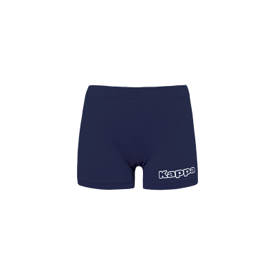 Short volleyball rouge femme, kappa, volley, beach volley