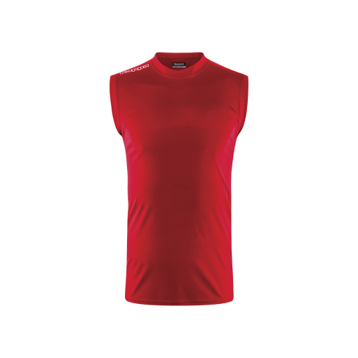 Maillot Kappa volley sans manche rouge, beach volley