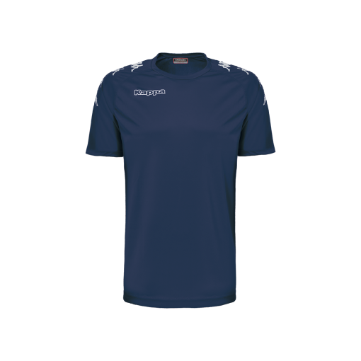 Maillot foot bleu marine, futsal, hand, volley, castolo, kappa