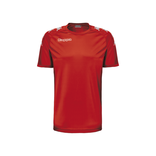 Maillot rouge kappa foot futsal hand volley castolo