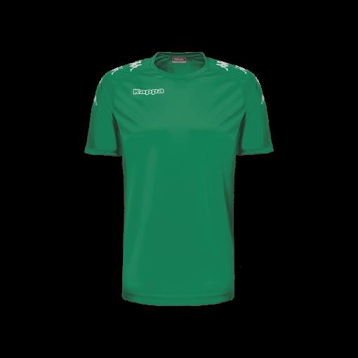 Maillot kappa foot vert Castolo foot futsal hand volley