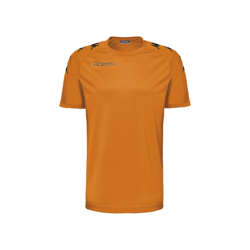 Maillot kappa foot futsal hand volley Orange Castolo