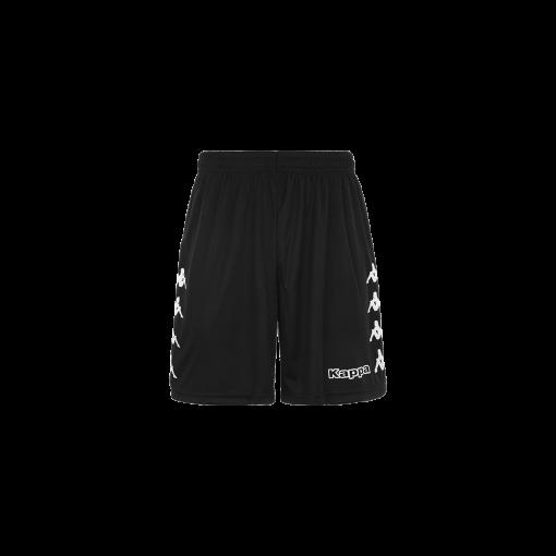 Short noir football, futsal, hand, volley, kappa, curchet
