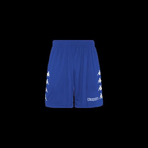 Short bleu kappa, futsal, foot, hand, volley, curchet