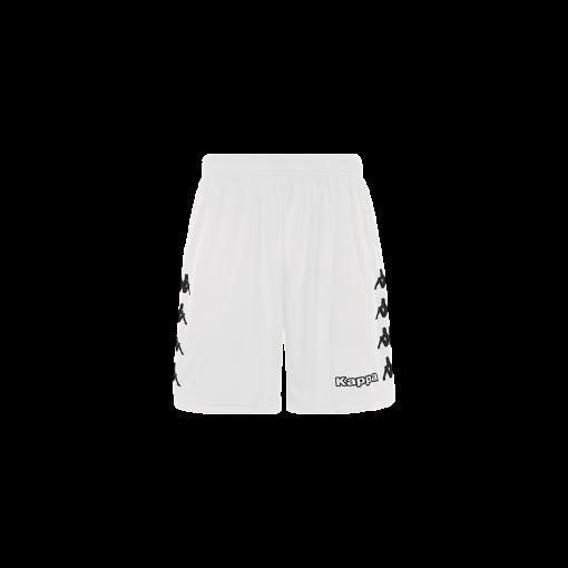 Short blanc foot, futsal, hand, volley, kappa, curchet