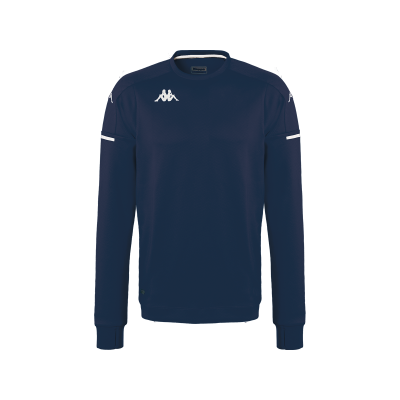 sweat bleu marine kappa, aldren, entrainement, sortie, hors field, pro team