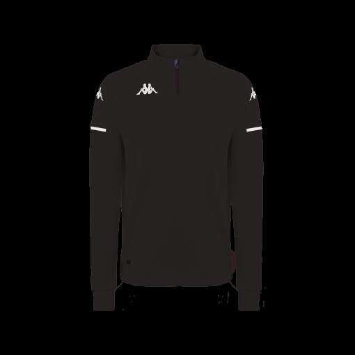 Veste noire kappa, ablas, hors field, pro team