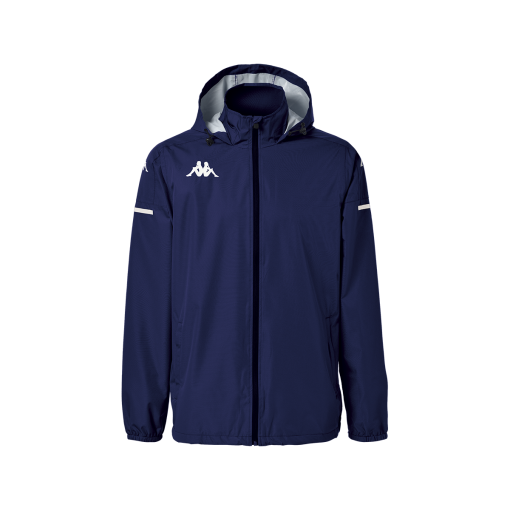 veste de pluie bleu marine kappa, hors field, pro team