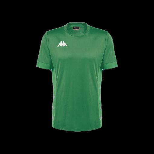 Kappa drvio vert, maillot futsal foot Kappa