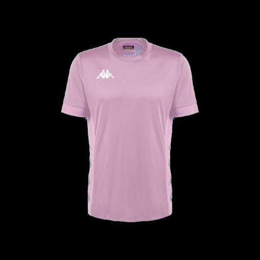 maillot rose dervio kappa futsal foot