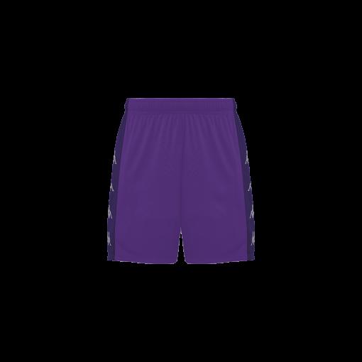 SHort violet kappa, foot, futsal, volley, delebio