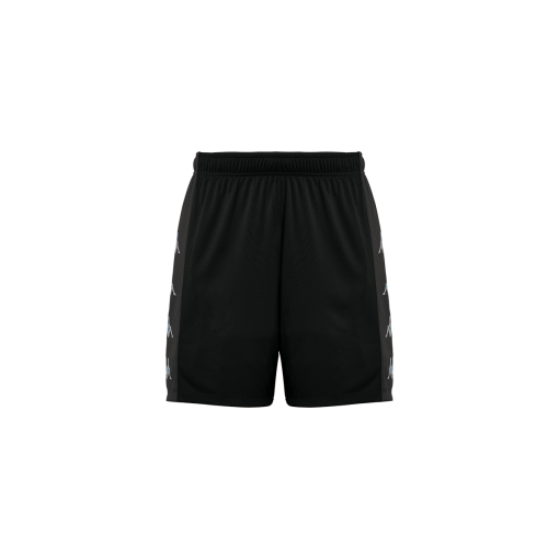 SHort noir kappa delebio foot futsal