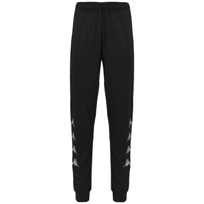 bas noir kappa, pantalon, erice, foot, futsal, hand, basket, rugby, cricket