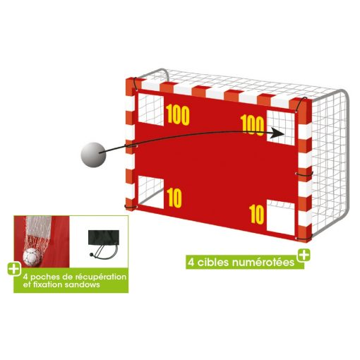 Cible handball 3x2m