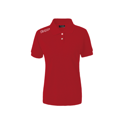 polo rouge femme, kappa, wss, no active, pro team, hors field