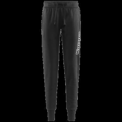 Pantalon noir femme kappa, wincan, no active, pro team