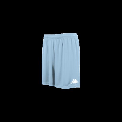 short bleu ciel kappa, foot, futsal, hand, volley, cricket, vareso