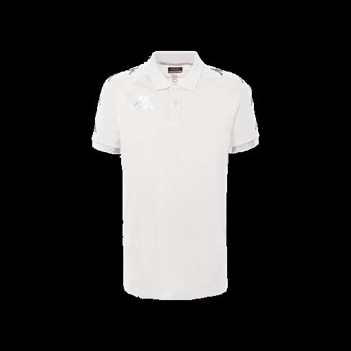 polo blanc kappa, caldes, no active, hors field, coton