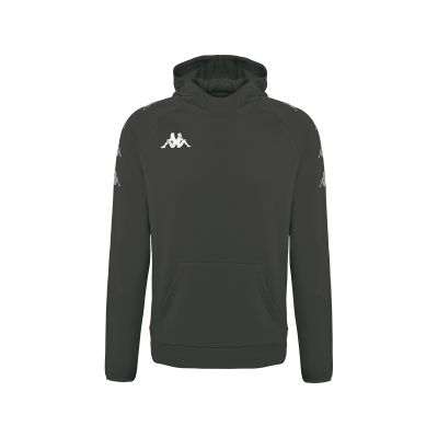 Sweat capuche kappa rouge, diano, no active, hors field