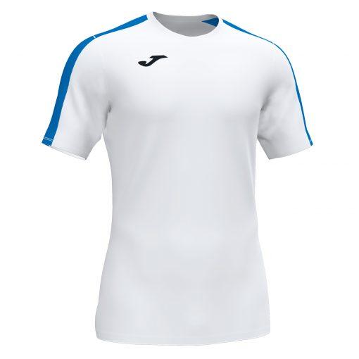 Maillot blanc bleu Joma, Academy III, foot, futsal, hand, volley, cricket