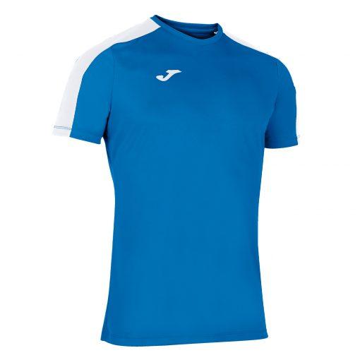 Maillot bleu blanc Joma, academy 3, foot, volley, hand, futsal, cricket