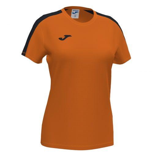 maillot orange noir, Joma, academy III, foot, futsal, cricket, volley