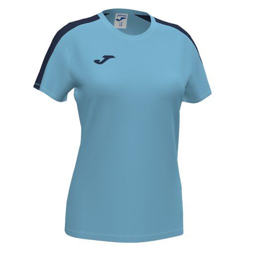 maillot femme bleu turquoise, noir, Joma, futsal, foot, cricket, academy III, volley