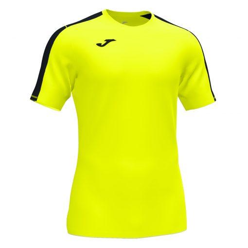 Maillot Jaune Fluo Joma, academy III, foot, futsal, hand, volley, cricket