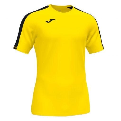 Maillot jaune noir Joma, academy III, foot, futsal, hand, volley, cricket