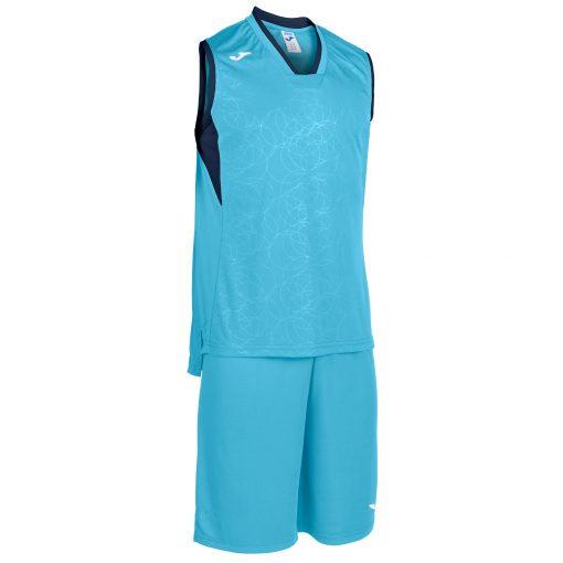 set turquoise bleu marine, Joma, basket, campus