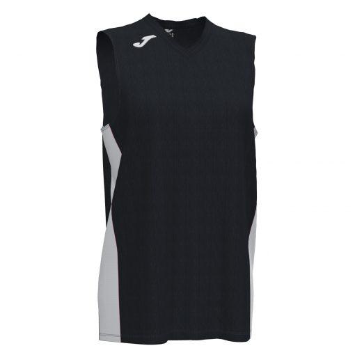 maillot noir sans manche, Joma, basket, femme, cancha 3