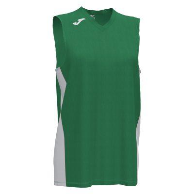 maillot sans manche, basket, femme, vert, Joma