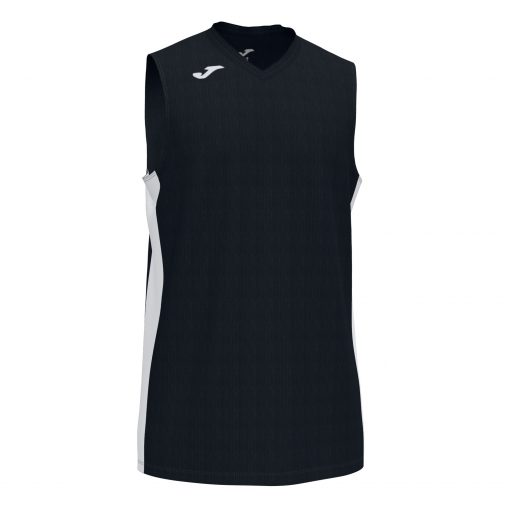 maillot noir, sans manche, basket, Joma, cancha III