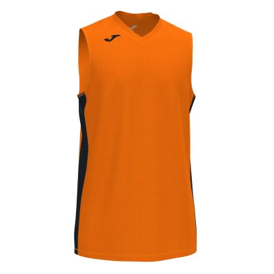 Maillot orange, sans manche, basket, Joma, Cancha 3